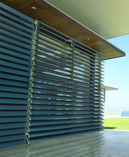 Metal Louvre Awnings A Amp B Interiors Domestic And